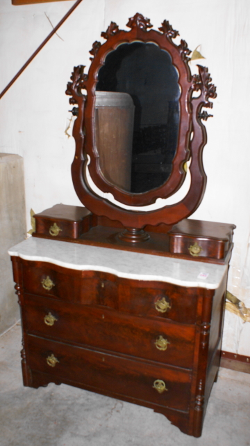 Late Victorian Marble Top Dresser For Sale Classifieds