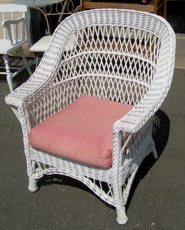 Wicker chair - For Sale - Wicker Chair For Sale Antiques.com Classifieds