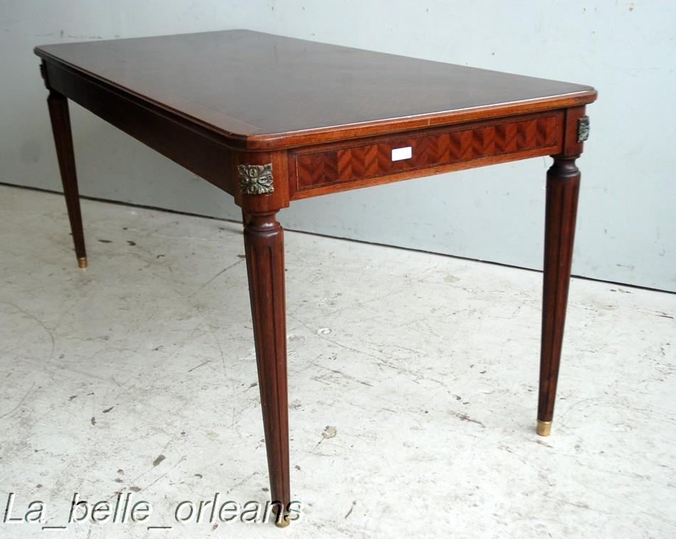 Fine elegant french lxvi dining table small size for for Small tables for sale