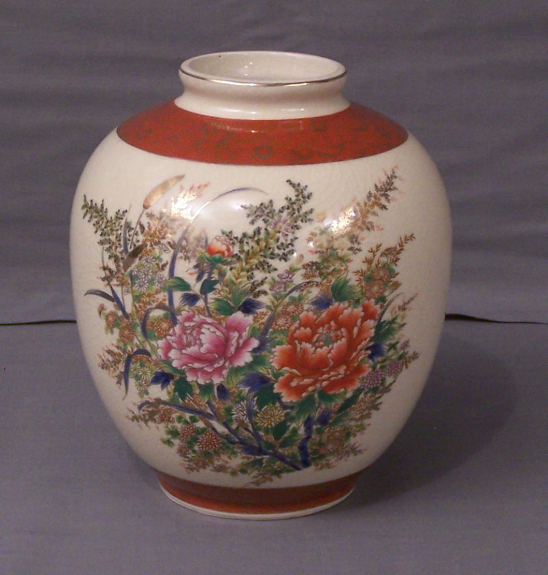 Royal Satsuma Vase Markings Vase And Cellar Image Avorcor
