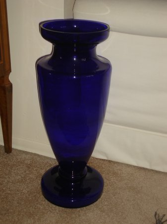 472istol Blue Vase For Sale Antiques Classifieds