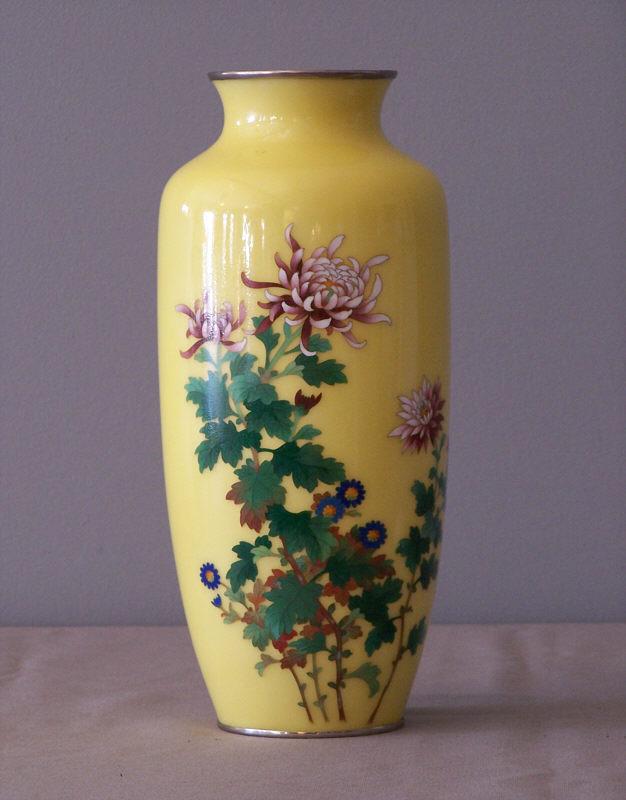 Vintage Japanese Vase 116