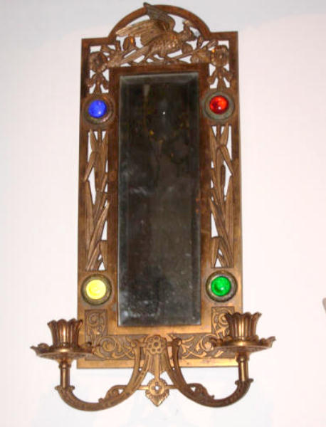 Aesthetic jeweled mirror for sale classifieds for Long antique mirror