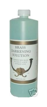 j 3499 4 brass darkening solution four 32oz bottles for sale classifieds. Black Bedroom Furniture Sets. Home Design Ideas