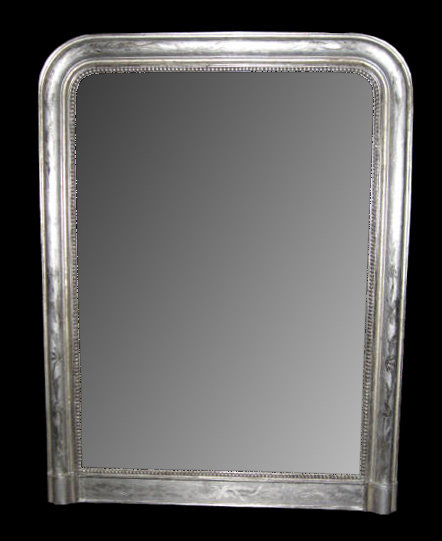 19th century silver louis philippe mirror for sale for Silver mirrors for sale