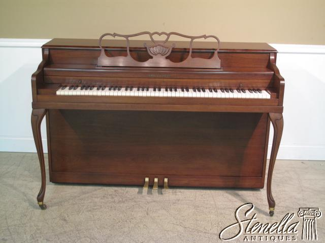 14831: KOHLER & CAMPBELL French style Walnut Piano For Sale ...