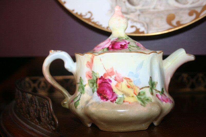 Tea Pots 31 Hand Painted Single Teapot For Sale Antiques