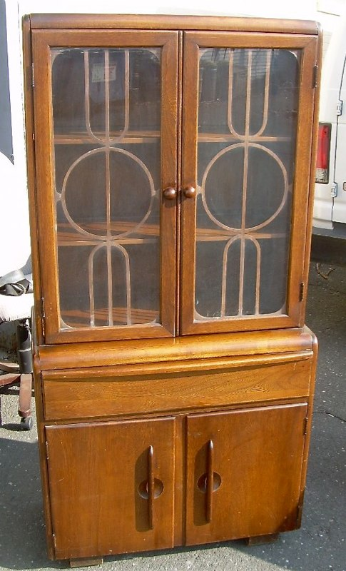 Art Deco china cabinet For Sale | Antiques.com | Classifieds
