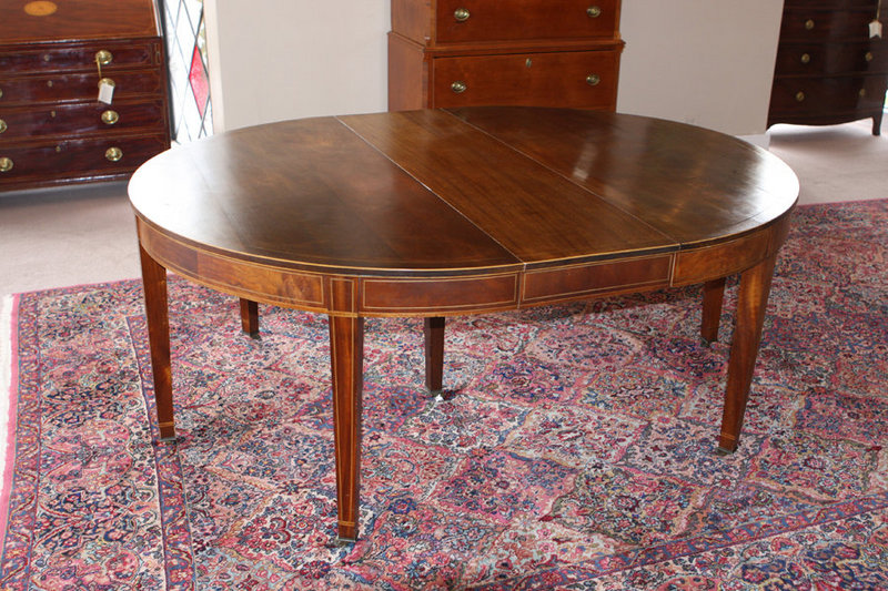 American federal style dining table for sale antiques for Styling a dining table
