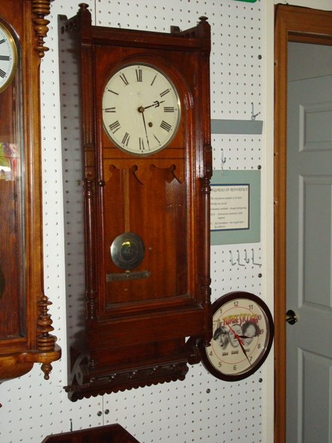 seth thomas 39 queen anne 39 wall clock for sale antiques