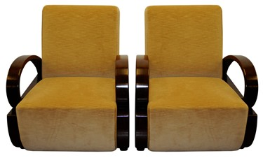 A Pair Of Chinese Shanghai Art Deco Club Armchairs, Jichi Mu Wood Frame  (exotic Hard Wood Ormosia) And Contemporary Moco Chenille Upholstery.
