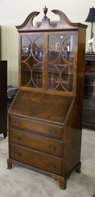 Mahogany Secretary Desk For