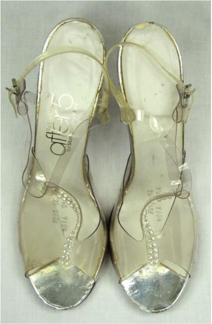 Clear Wedge Heel Platform Shoes