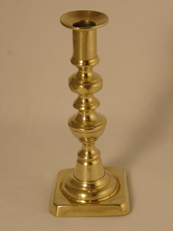 Single Brass Candlestick For Sale Antiques Com Classifieds