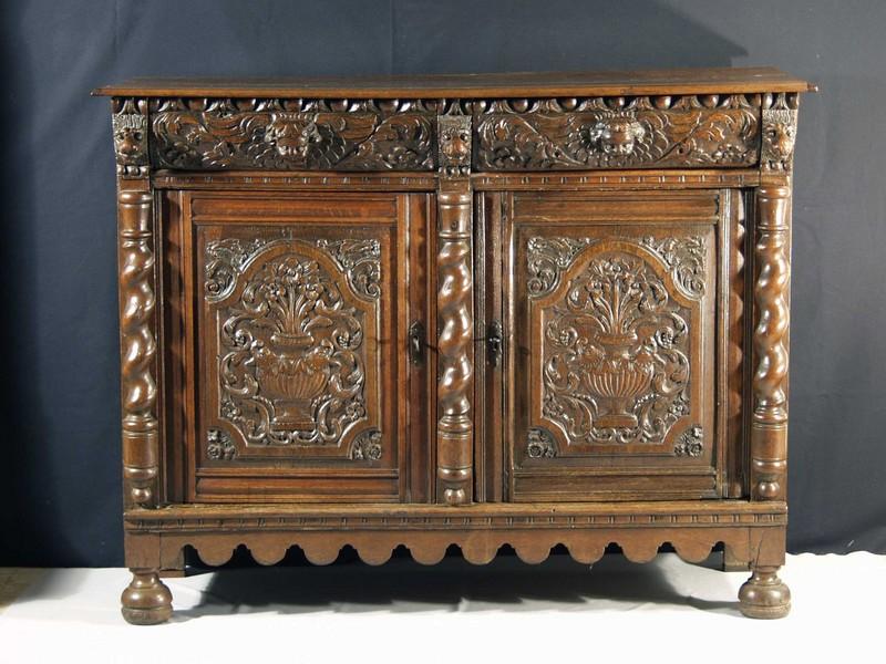 Height 42 width 54 depth 22 - Buffet style baroque ...