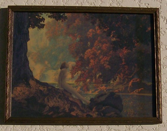 Maxfield parrish print dreaming for sale for Photographs for sale online