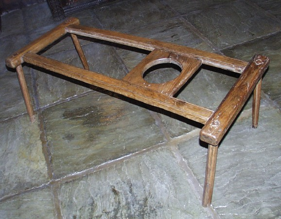Circa 1800, and of Historic Interest, probably Welsh and fashioned from  cleft ash, and with an adjustable slide to hold the baby upright, which is  fixed ... - Antique Baby Walker For Sale Antiques.com Classifieds