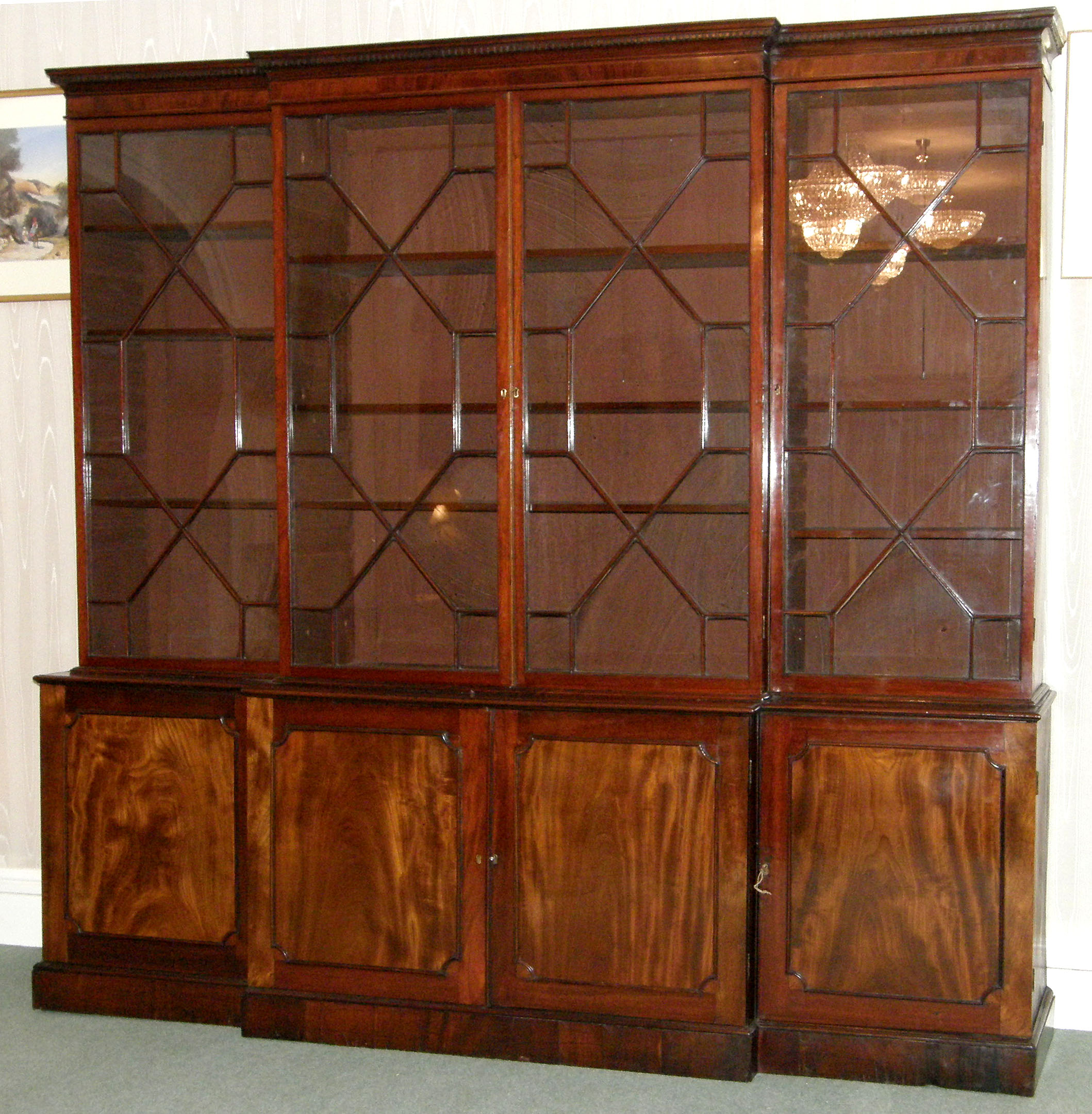 Breakfront Bookcase For Sale Classifieds