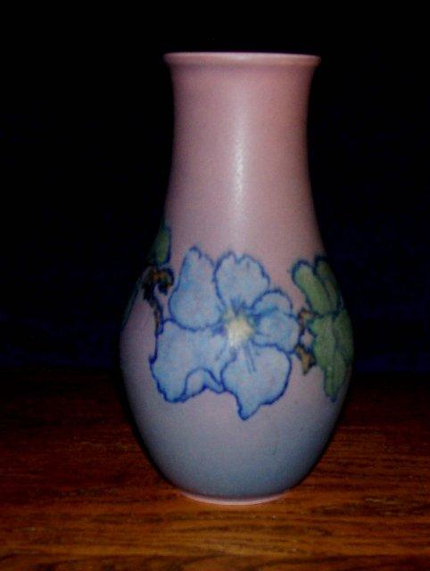 rookwood floral matt vase by jones for sale antiques com