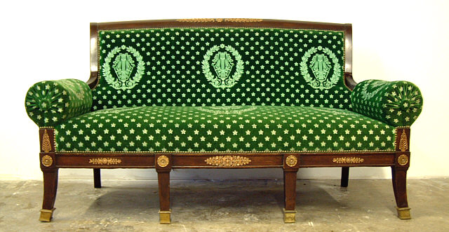French Empire Ormolu Sofa Couch Item 2792 For Sale Antiques