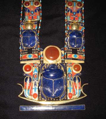 Vintage Glass Scarab Jewelry Broadwater Rose Jewels