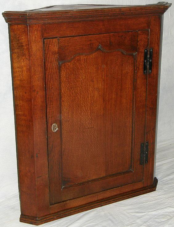 Antique Oak Corner Cupboard For Sale Antiques Com