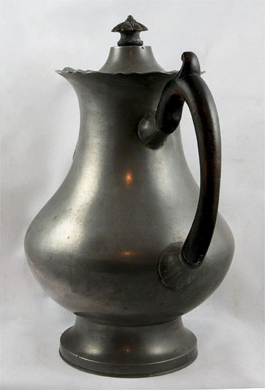 Pewter Coffee Pot - German For Sale | Antiques.com ...