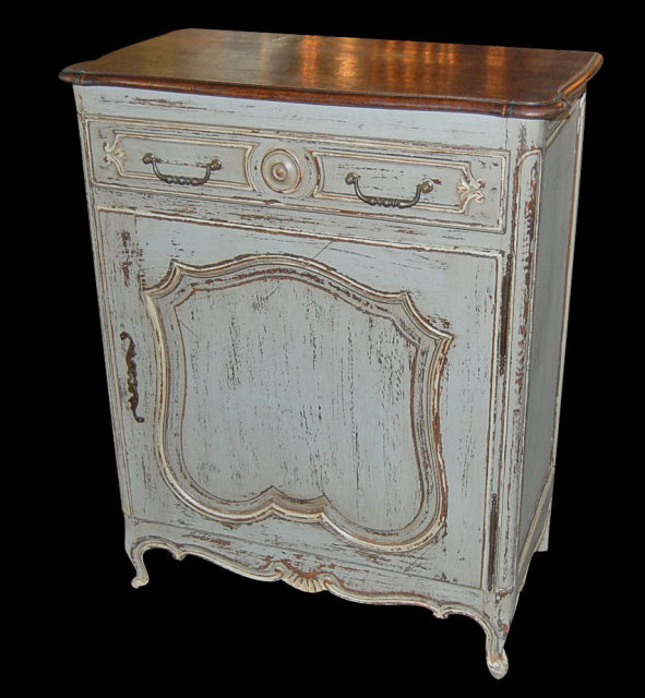 Painted French Provincial Cabinet For Sale | Antiques.com ...