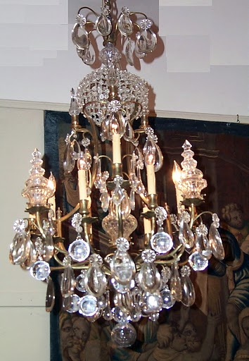 Antique bronze crystal in Chandeliers - Compare Prices, Read