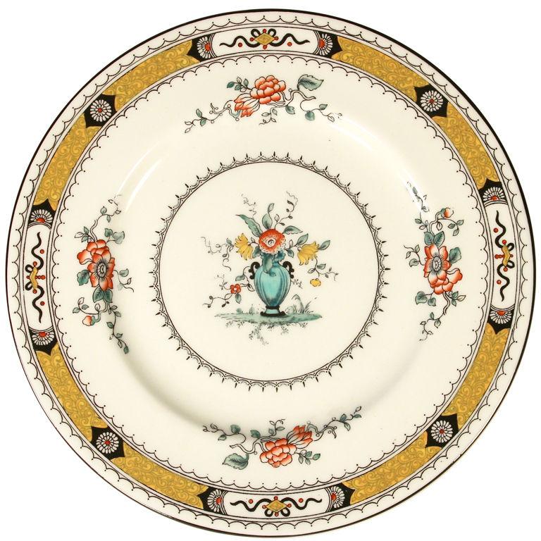 Set of 10 Coalport French-Noble Dinner Plates - For Sale  sc 1 st  Antiques.com & Set of 10 Coalport French-Noble Dinner Plates For Sale | Antiques ...