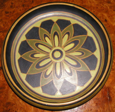Antiques Dealers on Catteau Boch Keramis Plate Bowl For Sale   Antiques Com   Classifieds