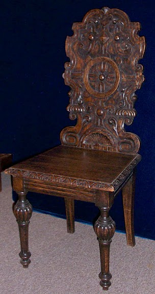 Pair antique english oak chairs eoc1 for sale antiques for 100 year old oak table