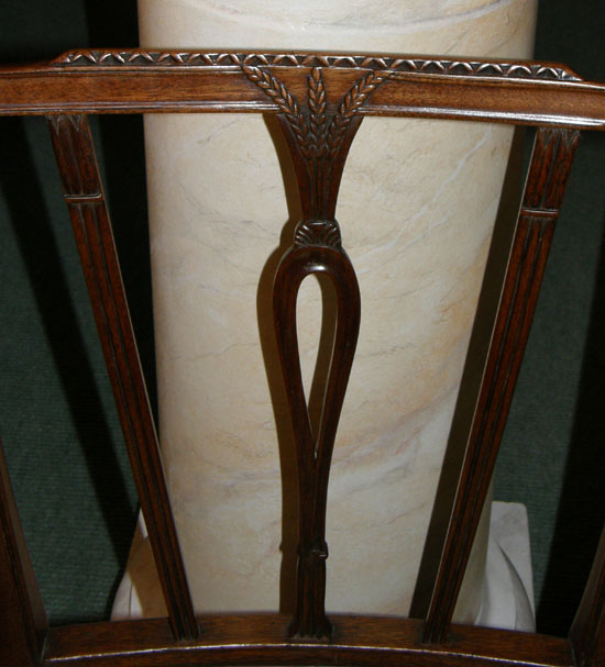 Hepplewhite Elbow Carvers Chair For Sale Antiques Com