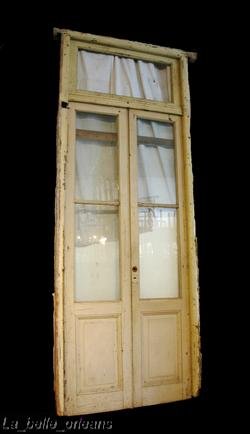 Outstanding french double entry door with transom for sale for Double french doors for sale