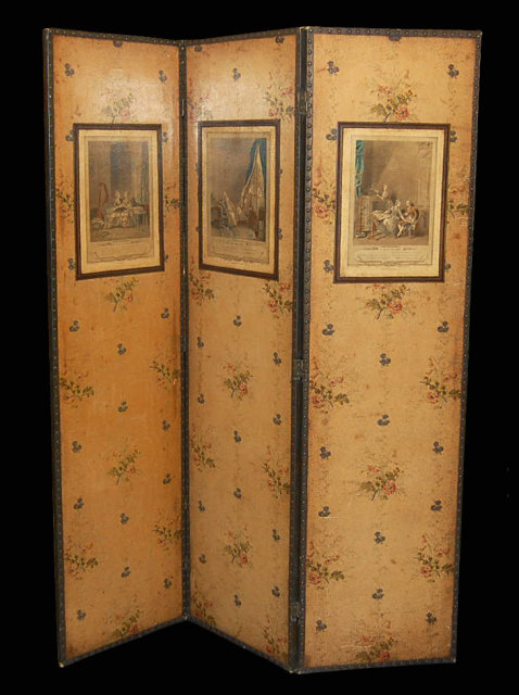 Vintage French Dressing Screen For Sale Antiques Com