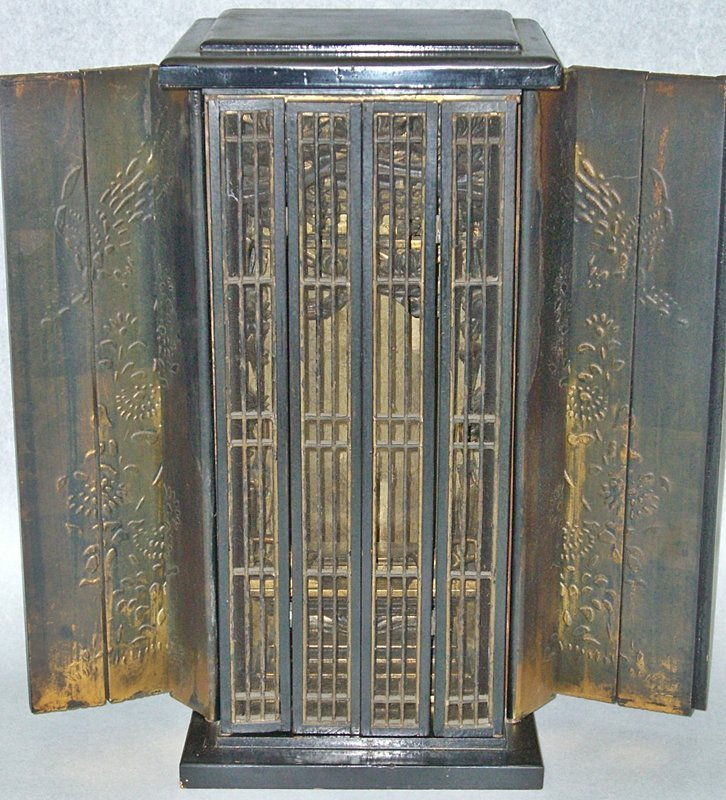 Buddhist Altars For Sale: Japanese Antique Zen Buddhist Butsudan Altar For Sale