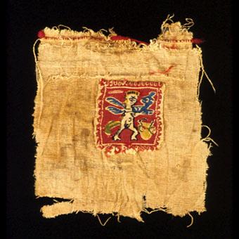 Late Antique Coptic Textile Fragment Pf 2110 For Sale