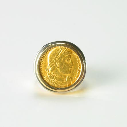 Asian coin ring