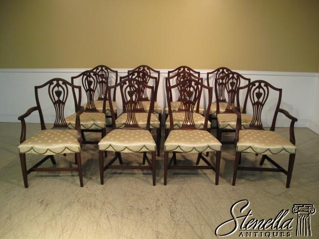 14771 set 12 kittinger hist newport dining room chairs for sale classifieds. Black Bedroom Furniture Sets. Home Design Ideas