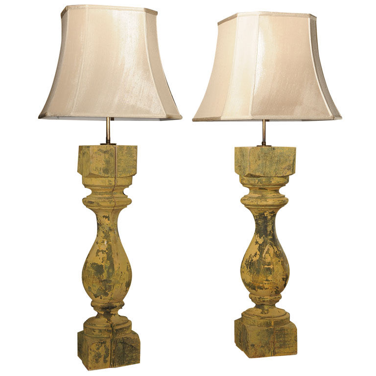 large 19th century wooden lamps for sale classifieds. Black Bedroom Furniture Sets. Home Design Ideas