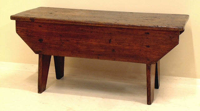 Antique Country Pine Kitchen Farm Bench seat : Item # 4081 For ...