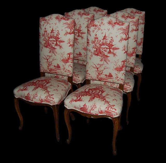 6 Country French Side Chairs For Sale  Antiques com
