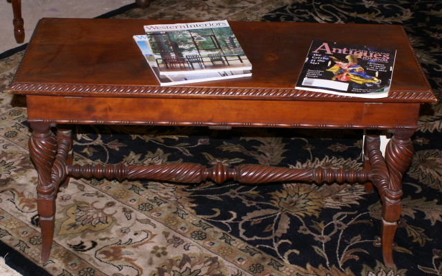 Antique Piano Benches For Sale Nice Antique Piano Bench With Twisted Columns For Sale