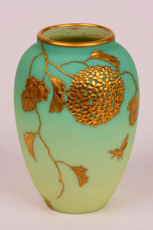 Thomas Webb Satin Glass Vase For Sale Antiques Classifieds